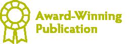 Award Winning Publication Badge