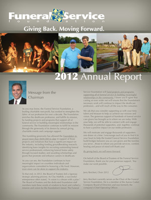 2012 Impact Report Cover
