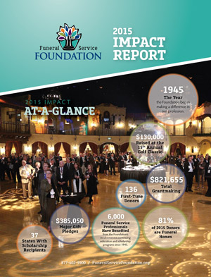 2015 Impact Report Cover
