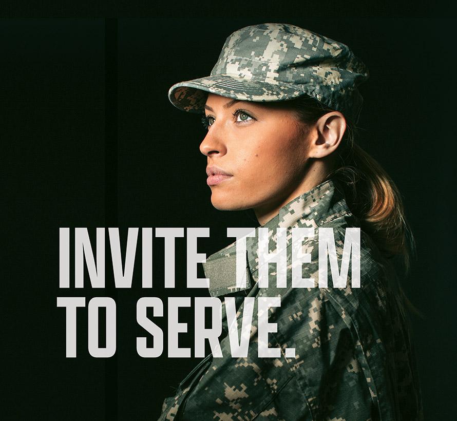 Invite Them to Serve