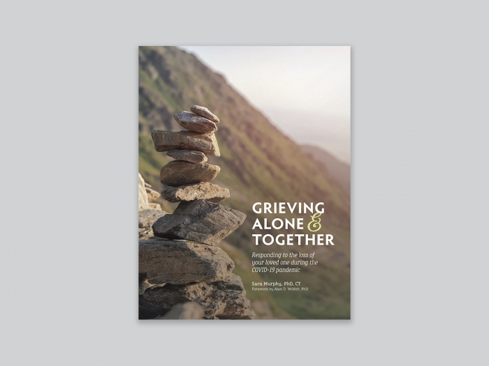 Grieving Alone Together Cover