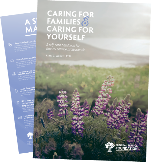 Caring for Families and Yourself Cover