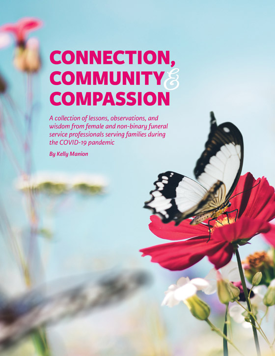 Connection Community Compassion Cover