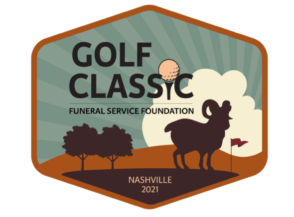2021 Golf Classic Logo Featuring a Ram