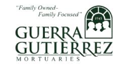 Guerra Gutierre Mortuaries Logo