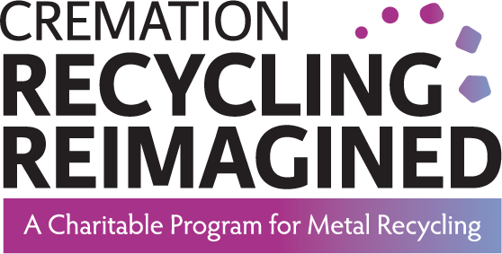 Logo for Cremation Recycling Reimagined, a Charitable Program for Metal Recycling